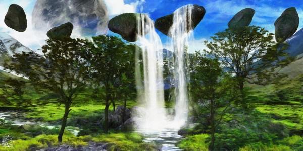 The Infinity Pool by ChrisHarrisArt