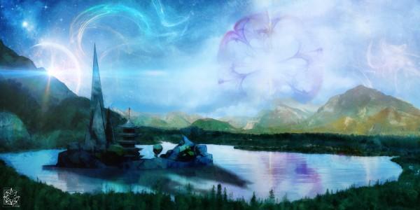 The Lake House by ChrisHarrisArt