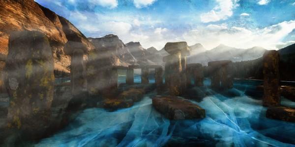 The Lake Stones by ChrisHarrisArt