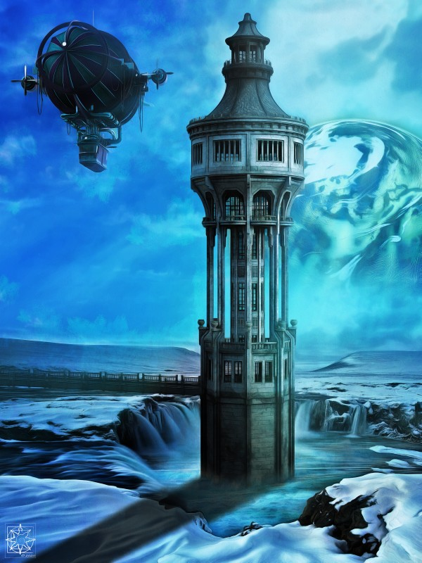 The North Tower by ChrisHarrisArt