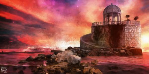The Oceans Edge by ChrisHarrisArt