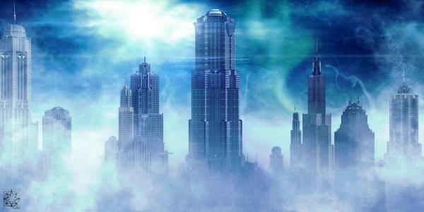 The Shrouded City by ChrisHarrisArt