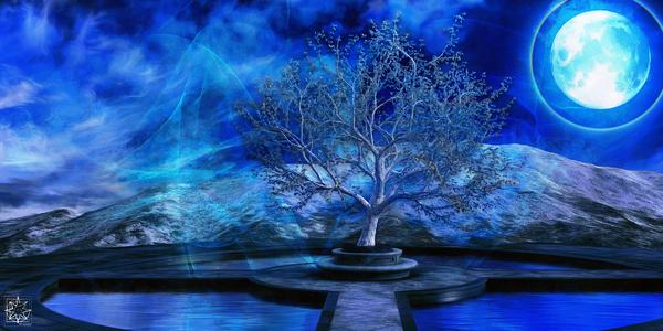 The Spirit Tree by ChrisHarrisArt