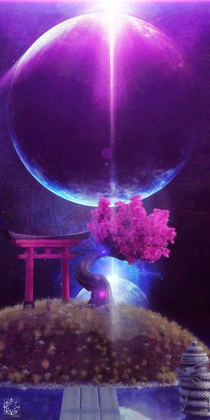 The World Shrine by ChrisHarrisArt
