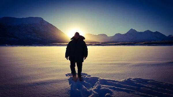 Alaskan man by Cindy Rogers