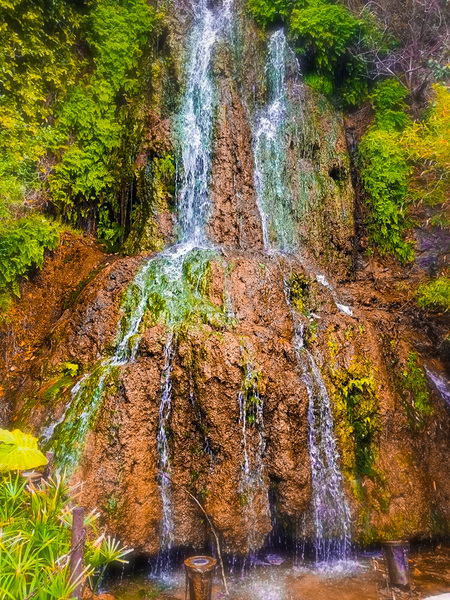 Tiny Waterfall by Cindy Rogers