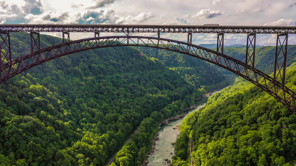 New River Gorge Expansion Bridge by Cindy Rogers