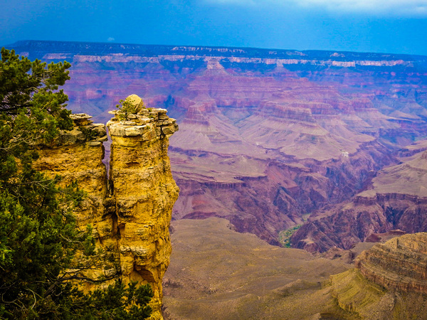 Grand Canyon View 1 by Cindy Rogers