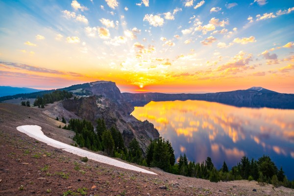Crater Lake by Clare Kathleen Cornelius