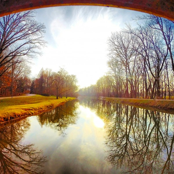 The Canal, Indianapolis, IN by Clare Kathleen Cornelius