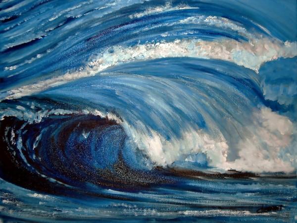 AO004 - Big Sea Wave by Clement Tsang