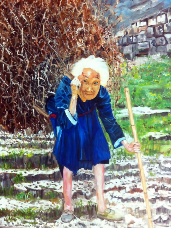 AO010 - The Tragic World I am a Old Woman by Clement Tsang