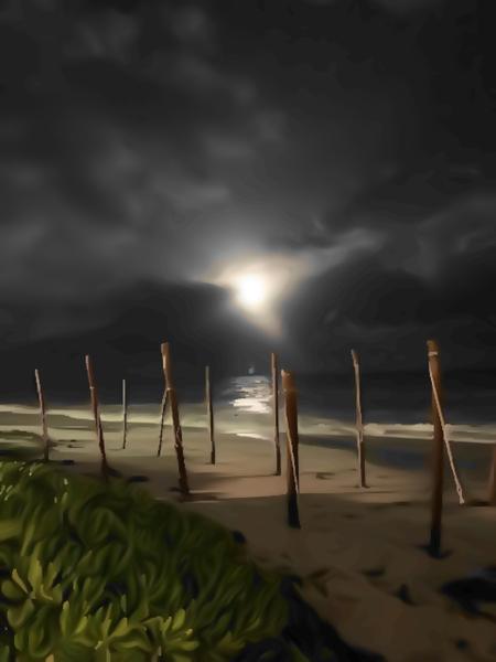 Night Walk by Clint Hubler