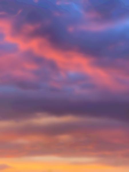 Sunset Sky by Clint Hubler