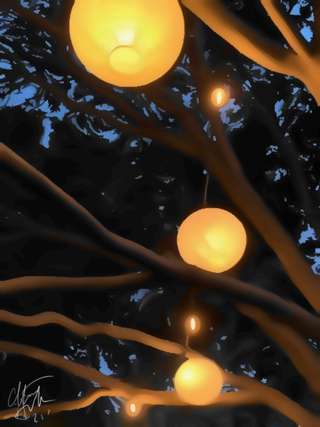 Night Lamps by Clint Hubler