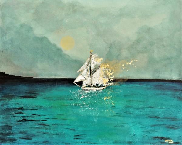 Sailing away by Daciana