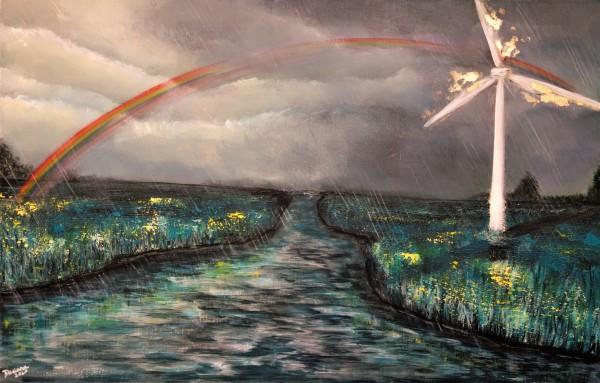 catch the rainbow by Daciana