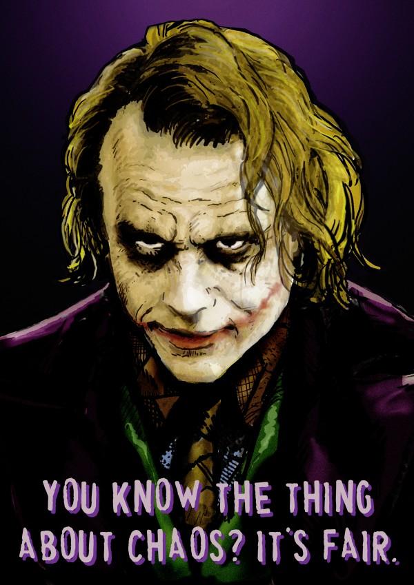 The Joker Says by Dan  Avenell