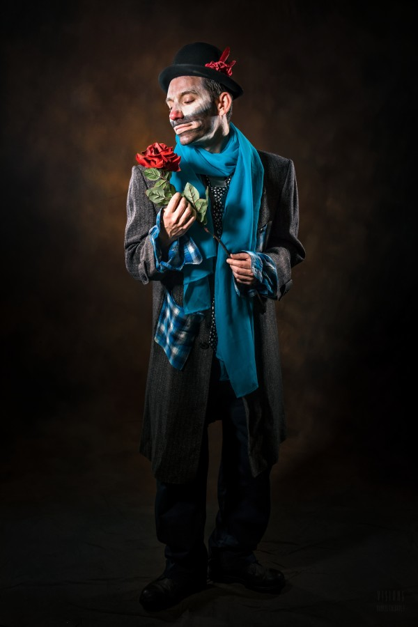 Auguste et rose by Daniel Thibault artiste-photographe