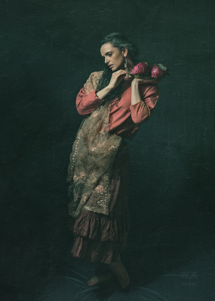 Inspiration Pre-Raphaelites 1 by Daniel Thibault artiste-photographe