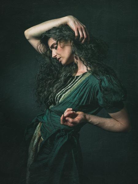 Inspiration Pre-Raphaelites 2 by Daniel Thibault artiste-photographe