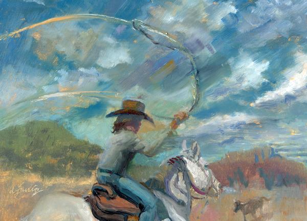 Ride Em Cowboy by Daryl Urig