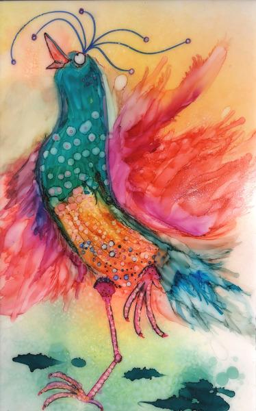 Chicken Dance by Denise Johnson