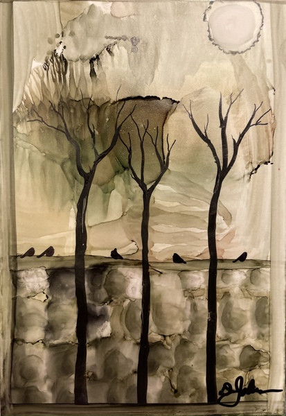 Birds On The Wall by Denise Johnson