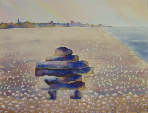 Inukshuk by Donna Stares
