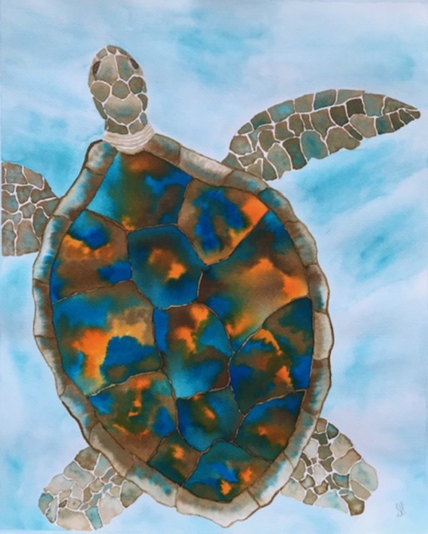Turtle Island Breaths Again by Donna Stares