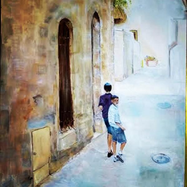 Jerusalem by  Claire Vines Artist