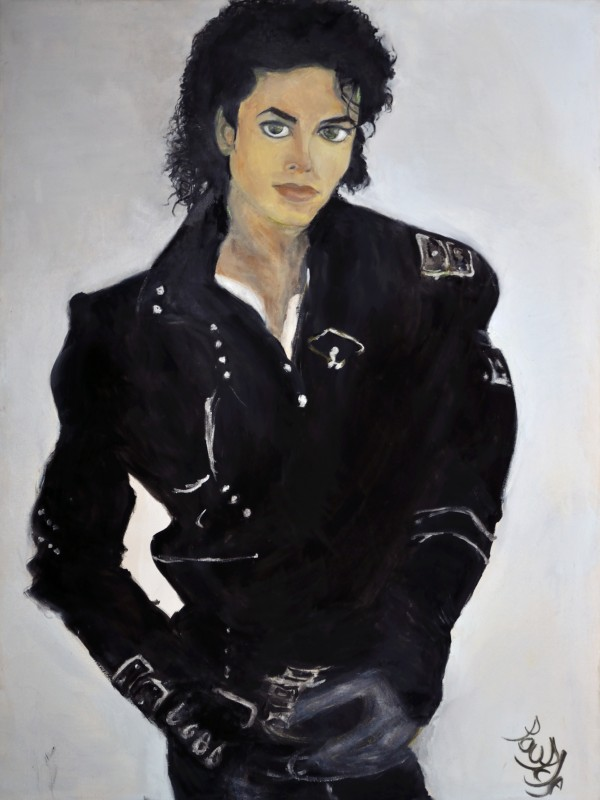 Michael_High_Res by  Claire Vines Artist