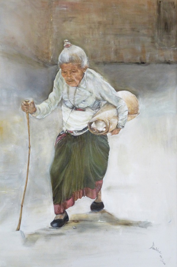Old_Woman_High_Res by  Claire Vines Artist