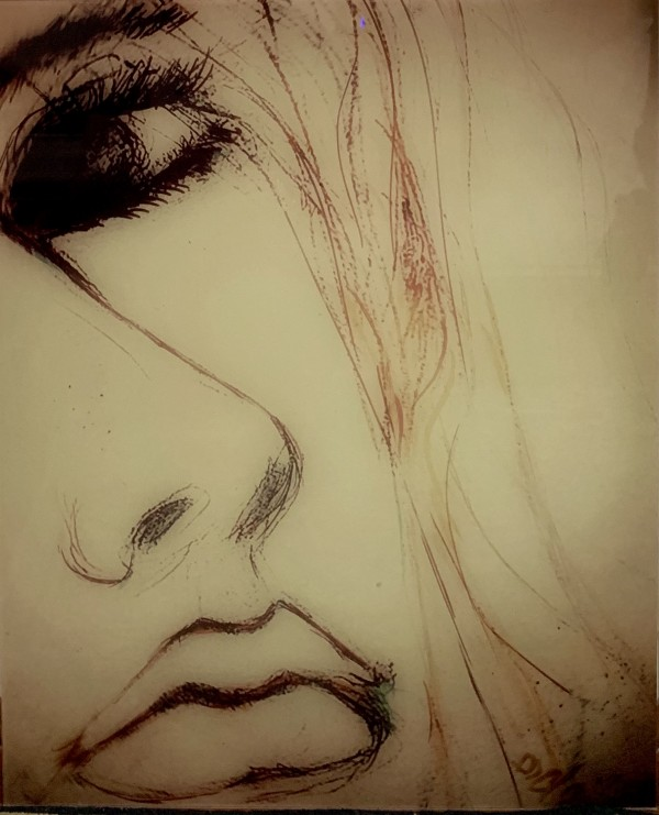 Facing Thoughts by  Claire Vines Artist