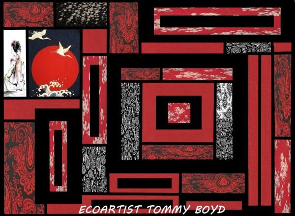 ecoartisttommyboydweedart by KING THOMAS MIGUEL BOYD