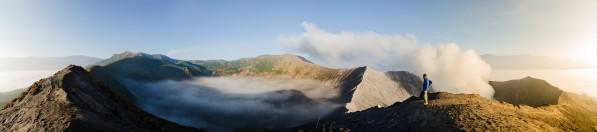 Mount Bromo volcano Java Indonesia by Em Campos
