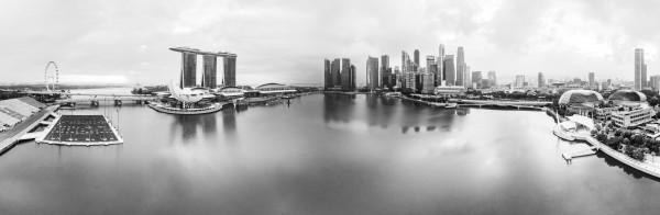 Marina Bay in Singapore by Em Campos
