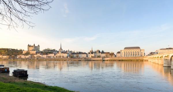 Saumur skyline in Val de Loire by Em Campos
