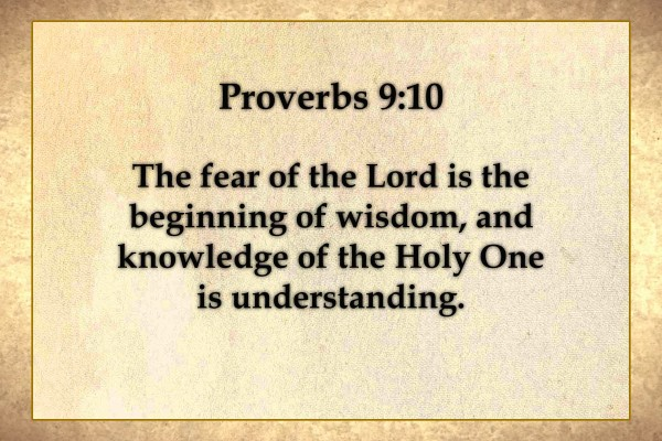 Proverbs 9 10 Scripture On The Walls