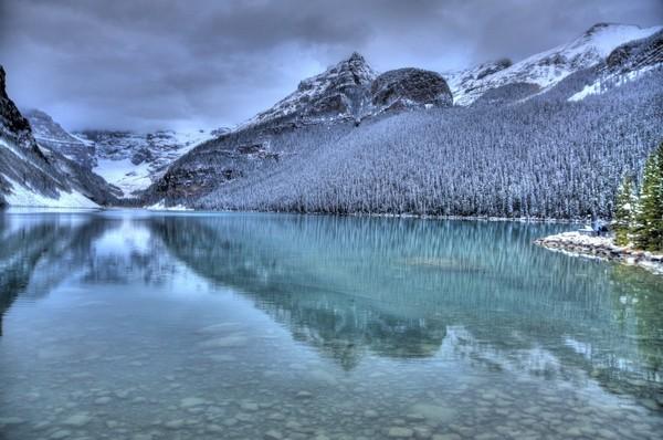 Lake Louise Winter  Print