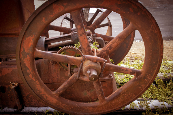 Abandoned and Rusting by Frank Wilson