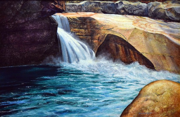 Emerald Pool  by Frank Wilson