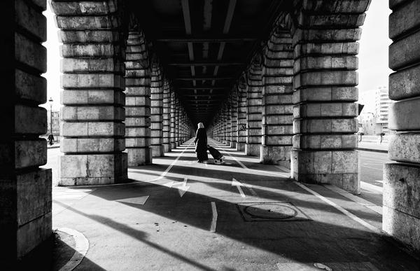 Bercy bridge by Hassan Bensliman