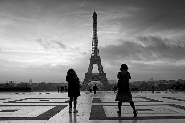 Trocadero square by Hassan Bensliman