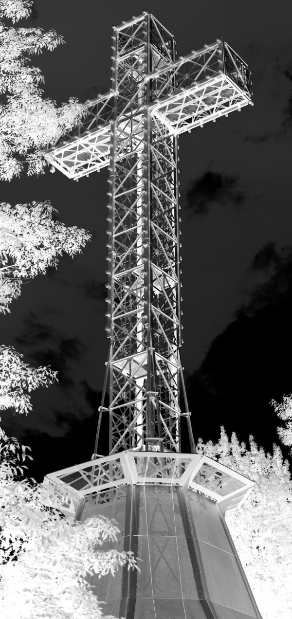 Inverted Mount Royal Cross by Irritated Eye