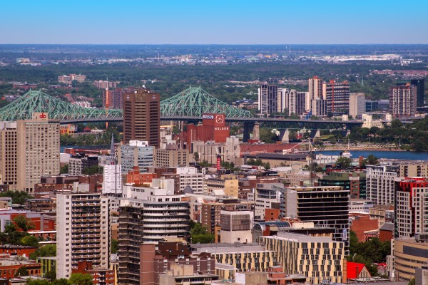 Montreal from the Kondiaronk Belvedere by Irritated Eye