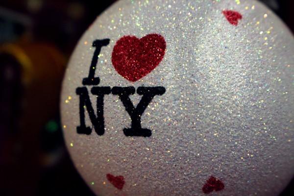 I Love New York Ornament  by Irritated Eye