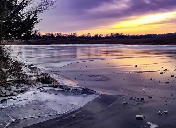 A Violet Sunset Digital Download