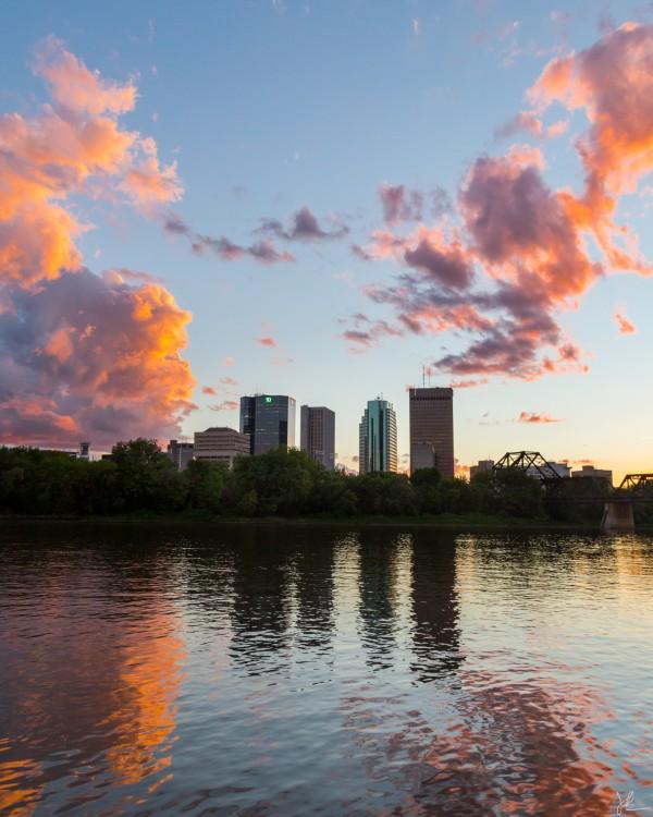 Winnipeg Sunset by Jackson Brown