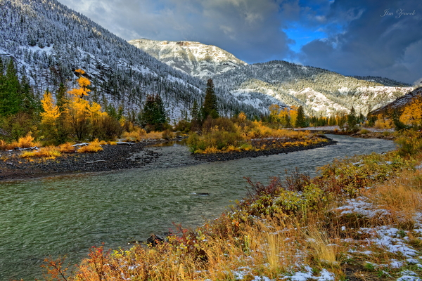 Yellowstone National Park by Jim Zenock